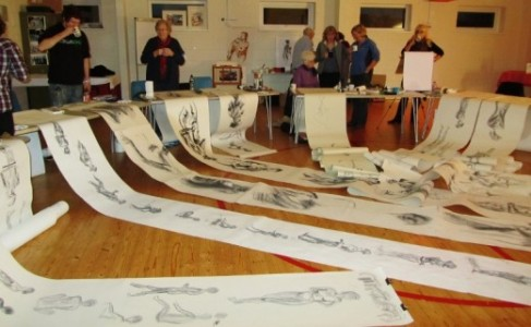 Sally Fisher's Tutored Art Class in Longwick