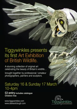 The British Wildlife Art Exhibition - 16th/17th March 2013