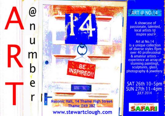 Art At No.14 -  Sat 26th & Sun 27th July 2014