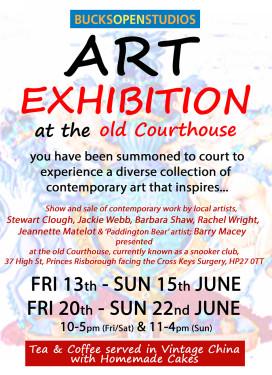 ARTISTS IN COURT - JUNE 2014!!