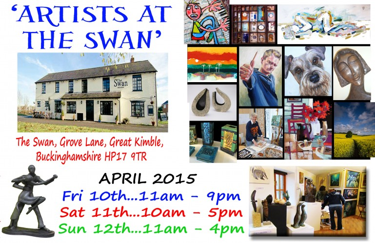 'ARTISTS AT THE SWAN' APRIL 2015