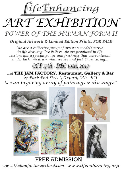LIFE ENHANCING ART EXHIBITION - Power Of The Human Form II